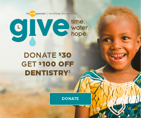 Donate $30, Get $100 Off Dentistry - Pleasant Hill Smiles Dentistry